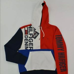 Tommy Hilfiger Sweater Hoodie Hooded Sweatshirt
